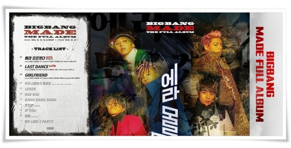 BIGBANG - BIGBANG M.A.D.E FULL ALBUM