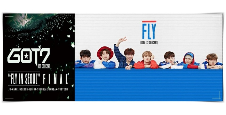 GOT7 - 1ST CONCERT [FLY IN SEOUL] FINAL DVD