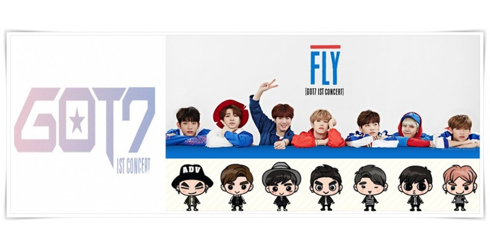 "GOT7 - 1ST CONCERT ""FLY IN SEOUL"" FINAL OFFICIAL MD"