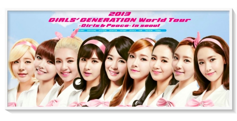 SNSD - WORLD TOUR GIRLS&PEACE IN SEOUL DVD