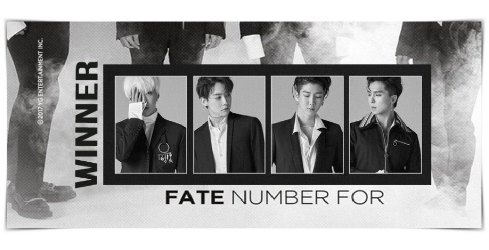 WINNER - FATE NUMBER FOR (FOR SEOUL VER. / FOR LA VER.)