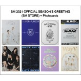 SM Official 2021 Season's Greetings (SM Store) + Member Photocards