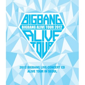 BigBang - 2012 Live Concert CD