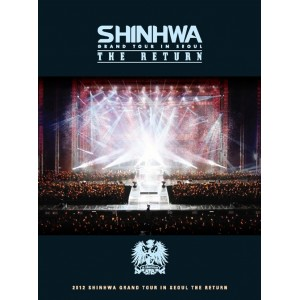 SHINHWA - Grand Tour In Seoul THE RETURN DVD