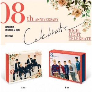 HIGHLIGHT - Celebrate (A Ver. / B. Ver.)