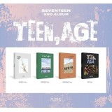 SEVENTEEN - TEEN,AGE (White/Green/Orange/RS Version)