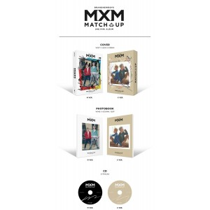MXM (BRANDNEW BOYS) - MATCH UP (M Ver. / X Ver.)