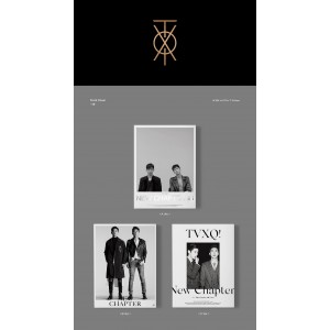 TVXQ - New Chapter 1 : The Chance of Love (Random Version)