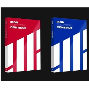 iKON - New Kids : Continue (RED/BLUE Ver.)