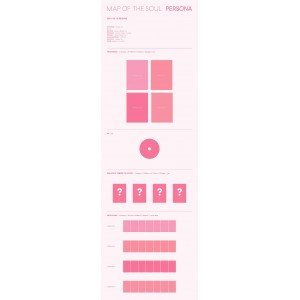 BTS (방탄소년단) - MAP OF THE SOUL : PERSONA (01 Ver. / 02 Ver. / 03 Ver. / 04 Ver.)