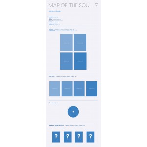 BTS (방탄소년단) - MAP OF THE SOUL : 7 (RANDOM Ver. + Limited Gifts)
