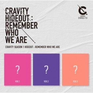 CRAVITY SEASON1 - HIDEOUT: REMEMBER WHO WE ARE (Random Ver.)