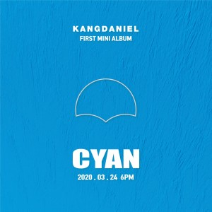 Kang Daniel - CYAN (A Ver. / B Ver.)