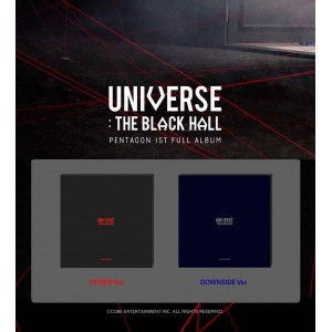 PENTAGON - UNIVERSE : THE BLACK HALL (UPSIDE Ver. / DOWNSIDE Ver.)