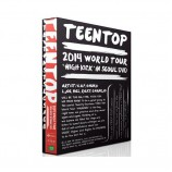 Teen Top - 2014 WORLD TOUR HIGH KICK IN SEOUL DVD