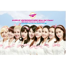 "SNSD - Girls' Generation World Tour ""Girls & Peace In Seoul"" DVD"