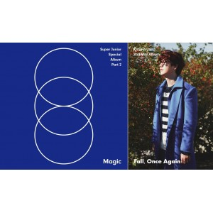 Super Junior MAGIC + Kyuhyun FALL, ONCE AGAIN (in Set)