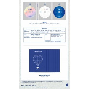 BTS (방탄소년단) - 2017 BTS LIVE TRILOGY EPISODE III THE WINGS TOUR IN SEOUL [BLU-RAY]