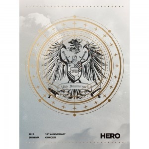 SHINHWA - 2016 SHINHWA 18th Anniversary Concert HERO (DVD)