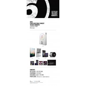 DAY6 - Every DAY6 Finale Concert [THE BEST MOMENTS] DVD