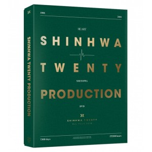 SHINHWA - 20th Anniversary Production DVD (+Photobook)