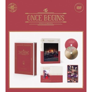Twice - TWICE Fanmeeting [Once Begins] DVD