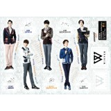 WINNER - Standing Paper Doll (5-Cut)