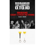 BIGBANG - LIGHTSTICK KEY RING (Black/White)