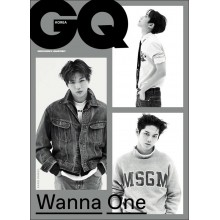 GQ Korea Magazine - NOV 2017 Issue (Feat. WANNA ONE)