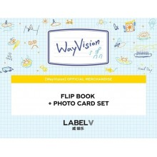 WayV - WAYVISION Flip Book + Photocard Set