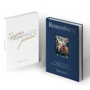 Super Junior - 15th ANNIVERSARY Photobook [REMEMBER 15]