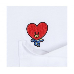 BTS (방탄소년단) - BT21 X SPAO Special T-shirts (POCKET Tshirt)