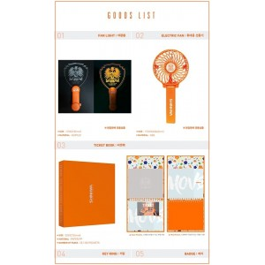 SHINHWA  - 2017 SHINHWA SUMMER LIVE-MOVE OFFICIAL GOODS
