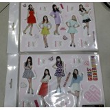 SNSD - Standing Paper Doll (8-Cut)