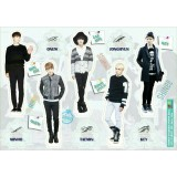 SHINee - Standing Paper Doll (5-Cut)