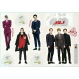 JYJ - Standing Paper Doll (4-Cut)