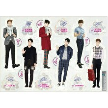 2PM - Standing Paper Doll (6-Cut)