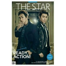 The STAR Magazine - JAN 2015 Issue (Feat. Donghae Eunhyuk)