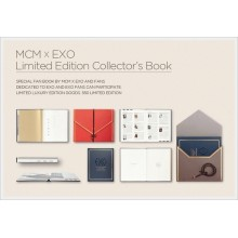 EXO - EXO x MCM Collector's Book + Special ID Leather Case (LIMITED EDITION)