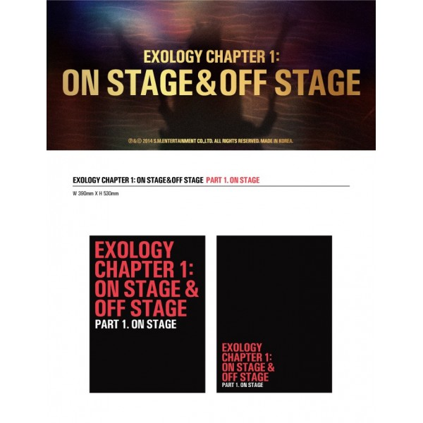 EXO - EXOLOGY CHAPTER 1: ON STAGE & OFF STAGE | Gasoo Kpop ...