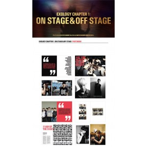 EXO - EXOLOGY CHAPTER 1: ON STAGE & OFF STAGE