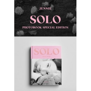 JENNIE (Blackpink) - SOLO Photobook Special Edition