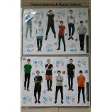 EXO - Standing paper Doll (12-Cut)